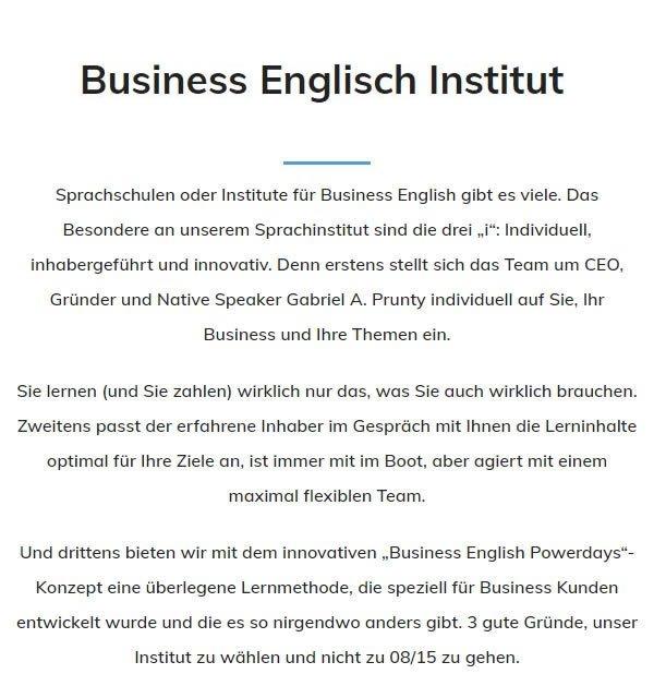 Englisch Institut aus 63065 Offenbach (Main)