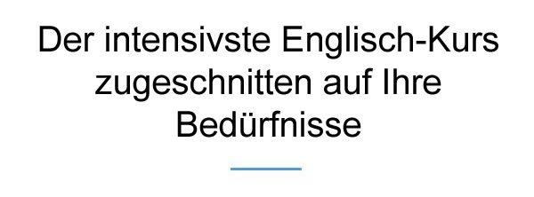 Englisch Intensiv Kurs für  Heilbronn