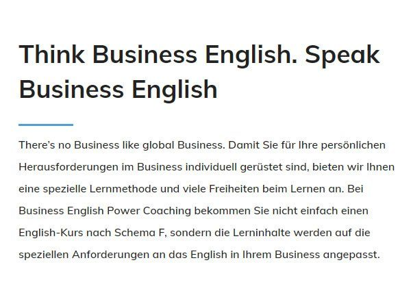 Think Business English