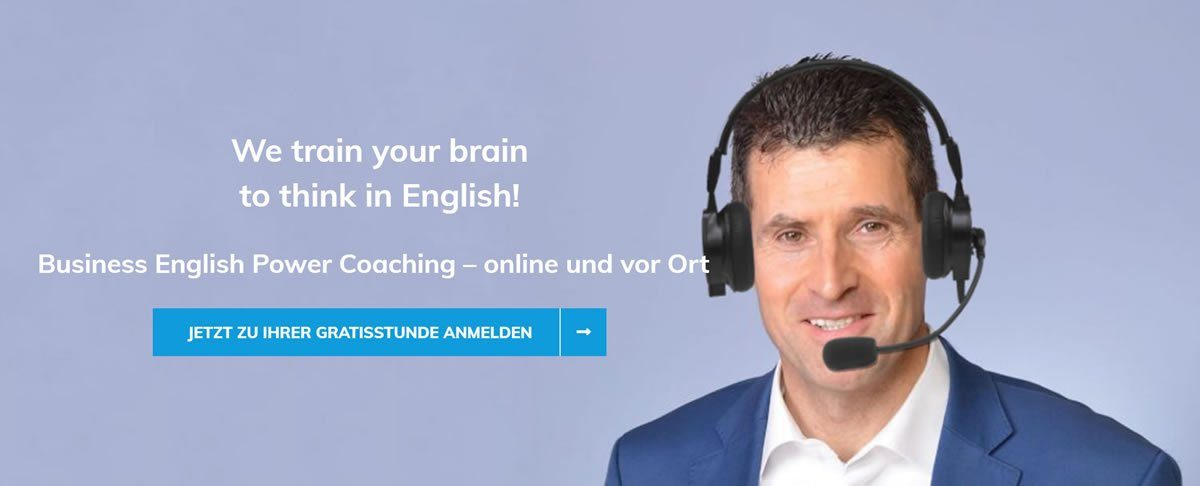 Englisch lernen Garching (München) | 🥇 Business English Power Coaching » Online Englischkurse,  Business English lernen & Englisch Sprachinstitut